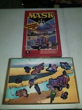 Vintage M.A.S.K. Mask Colorforms Playset Kenner Toys 1985 Nice Rare