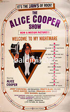 ALICE COOPER - HIGH QUALITY VINTAGE MOVIE POSTER - LOOKS AWESOME FRAMED