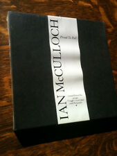 """Ian McCulloch (Echo & The Bunnymen) """"Proud to Fall"""" 7"""" VINYL LIMITED ED BOX!!!"""