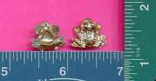 20 wholesale lead free pewter frog figurines m11048