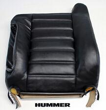 03-07 Hummer H2 Chrome Wheels Rims -Driver Lean Back Leather Seat Cover Black