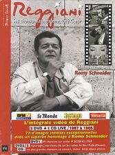 Serge Reggiani : Ses chansons, côté scène, côté coeur (3 DVD + 1 CD)