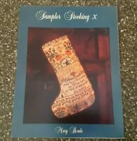 Mary Beale Sampler Stocking X / Christmas Counted Cross Stitch Chart
