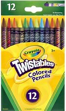 12 Twistables Colored Pencils from Crayola 68-7408