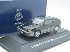 Honda Ballade Civic Sports CR-X Si 2 doors RHD 1984 black 1/43 Sapi Japan
