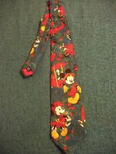 Disney Mickey Mouse Minnie mouse mens Tie Airplane RARE Vintage 79 Sweden