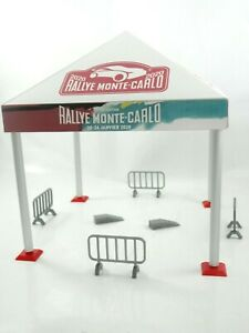 Diorama Model Kit  Sport Car Tent Rally Tent in Scale 1:43 Brand New