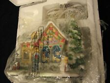 2001 Hawthorne Village Precious Moments TINY TREASURES TOYSHOP TOY SHOP w/COA