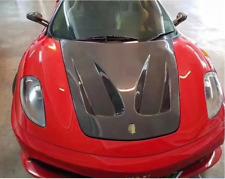 For Ferrari F430 Carbon Fiber Bonnet Engine Hood Cover 2005-2009