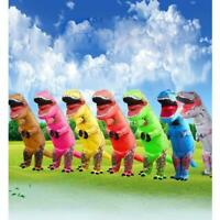 T-REX Inflatable Dinosaur Jurassic Costume Blow up Fan Adults Outfit Christmas