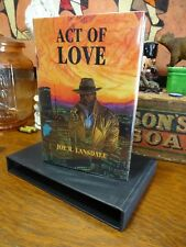 Act of Love by Joe Lansdale ~ SIGNED Numbered Limited Edition Book in Slipcase