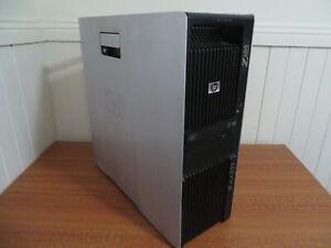 HP Z600 Workstation 2x Hex Core X5660 2.8Ghz 16GB RAM 1TB HD 1GB Video
