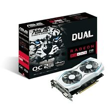 ASUS RADEON RX 460 DUAL OC 2GB GDDR5 1244 MHz WHITE AMD GRAPHICS VIDEO CARD