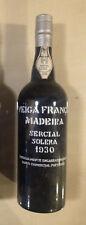 Madeira vin - Wine - Wein Veiga França Sercial Solera 1930 75 cl Rare