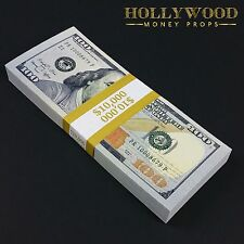 New Series 10K Stack Full Print - Quality Prop Money for Movie Prank Gift Play