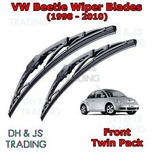 """(98-10) VW Beetle Mk2 Front Wiper Blades Windscreen 2x 21"""" Volkswagen"""