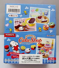 Peanuts Snoopy Cake Shop Complete Box - Re-ment   .#1ok