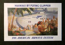 """Honolulu Clipper""  - Vintage Art  - Old Travel Ads"