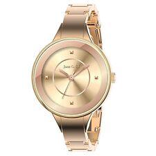 June & Ed Cuarzo Oro Rosa Pulsera Reloj de mujer W-0001