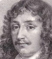 Portrait Francois de la Rochefoucauld Prince de Marcillac Ecrivain Moraliste
