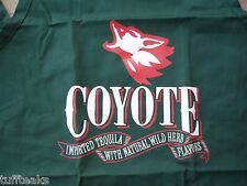 Coyote Imported Tequila Apron Natural Wild Flavors Bbq Cook for St Patricks' Day