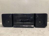 Vintage Sanyo M W232 Boombox Cassette AM/FM Radio GHETTOBLASTER COLLECTIBLE