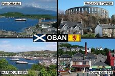 SOUVENIR FRIDGE MAGNET of OBAN SCOTLAND