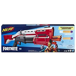 Nerf Fortnite TS-1 Shotgun Blaster Gun Red W/ Pump action and 8 Mega Darts NEW