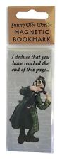 Sherlock Holmes magnetic bookmark by HOLY MACKEREL Made in UK