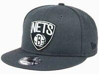 Brooklyn Nets New Era 9FIFTY NBA Men's Adjustable Snapback Cap Hat