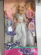 Rare Sindy Doll Wedding Dress Magic Marriage French Pedigree 2002 Like Barbie