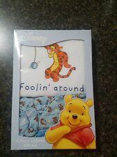 Nib Disney 4 piece Winnie the Pooh Layette Gift set 0-6 month Foolin' Around