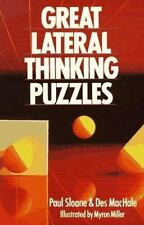 Great Lateral Thinking Puzzles, MacHale, Des, Sloane, Paul, Good Book