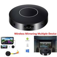 HDMI + AV RCA TV Car Media WiFi Display Dongle Receiver DLNA Airplay Miracast