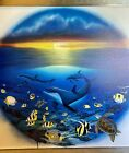 """Robert Wyland    """"Sea of LIfe""""   Limited Edition Numbered And Hand Signed"""