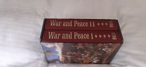 Folio Society 'War and Peace' Double Volume In Box Excellent Condition