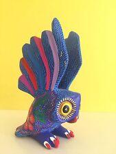 """Owl ALEBRIJE Oaxaca wood carving 3 X 5"""" Tall"""