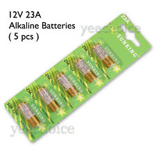 23A 12V ALKALINE BATTERY 23AE, A23, E23A, V23GA, MN21 SUNKING x 5 pcs