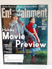 Entertainment Weekly Holiday Movie Preview October 31 2014 into the woods johnny
