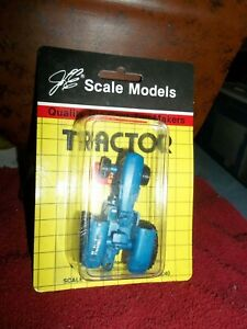 Blue Ford Scale Model Tractor Made in the USA