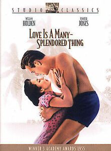 Love is a Many Splendored Thing ~ Authentic U.S. Issue - Excellent DVD