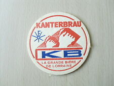 "SOUS-BOCK Kanterbrau KB ""La grande bière de Lorraine"""