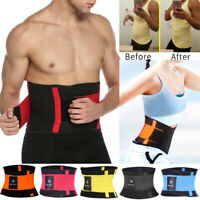 Xtreme Power Fat Burner Waist Trainer Trimmer Belt Weight Loss Workout Slim Wrap