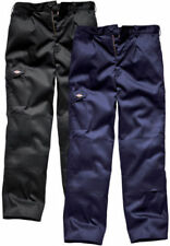 Dickies Patternless Regular Size Trousers for Men