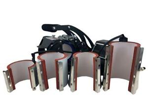 6, 11, 12, 17oz Latte/Durham Freesub ST-130 Mug Mat Wrap Element Heat Press