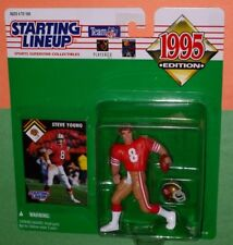 1995 STEVE YOUNG San Francisco 49ers #8 -FREE s/h- niners Starting Lineup NM+