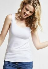Cecil - Organic Tanktop Linda In White XL