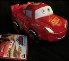 "Disney Pixar CARS Lightning McQueen 6"" Plush Electronic Car New 2005"