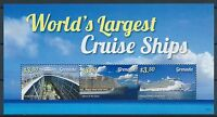 Grenada Kreuzfahrtschiffe Blockausgabe 2015 ** postfrisch