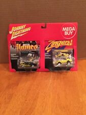 johnny lightning mega buy 2 pack black with flames zingers Vicious Vette Plymout